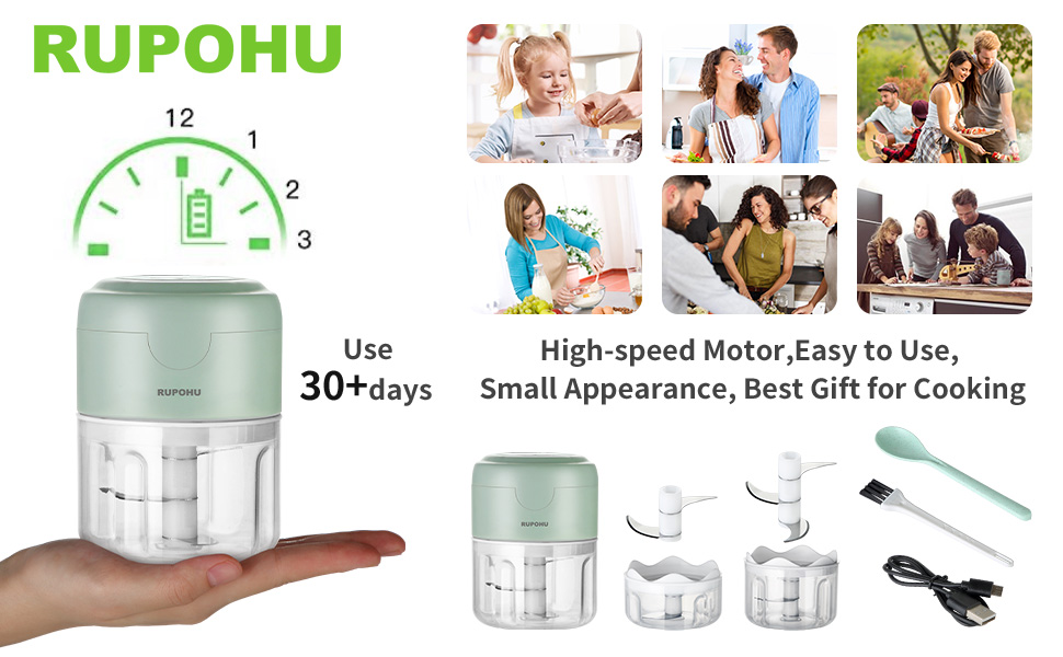 ELECTRIC MINI FOOD CHOPPER   Best Gift for Cooking