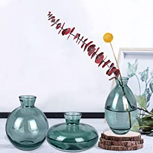 glass vase sets for decor