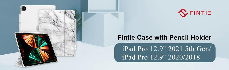 Fintie Frosted Back Case for iPad Pro 12.9 5th Gen 2021