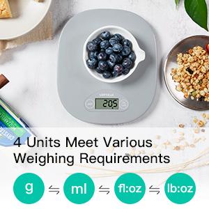 4 Weighing Units