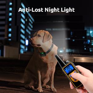Remote control with anti-lost night light