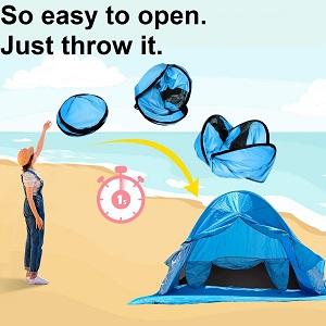 half tent for beach beach tents sun shelter pop up sun shades outdoor portable beach tent sun shelte