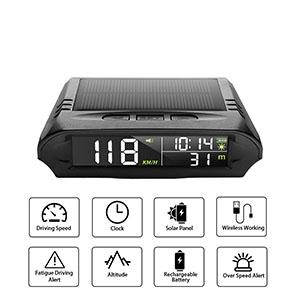 HUD GPS Speedometer Main Function