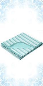 绿色 条纹毯