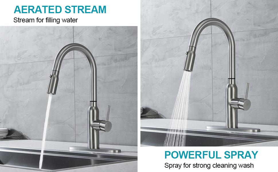 kitchen sink faucet with sprayer,travel trailer kitchen faucet,touch on kitchen sink faucets