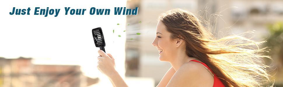 handheld fan rechargeable