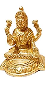 brass laxmi ganesh statue for home temple