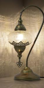 unique mosaic lamp
