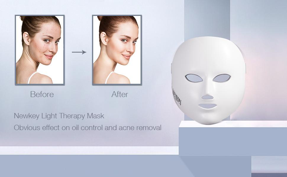 led face mask for acne