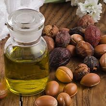 Olio di argan bellezza collagene volumizzante decollete  pelli retinolo salicilico sbiancante