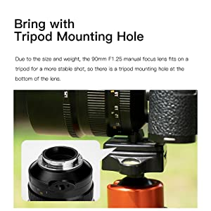 Bring with Tripod Mounting Hole