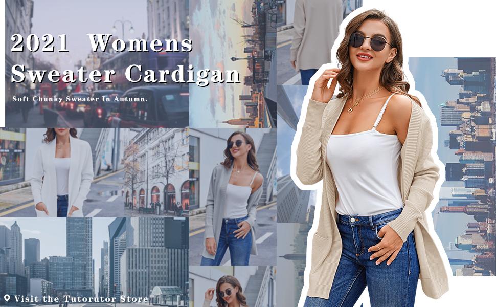 2021 Womens Sweater Cardigan