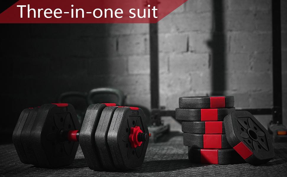 weights dumbbells set