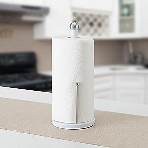 plastic paper towel holder, bronze paper towel holder, kitchen paper holder,