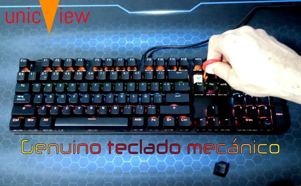 teclado gaming mecánico, teclado mecanico español, teclado mecanico gaming, teclado gamer mecanico