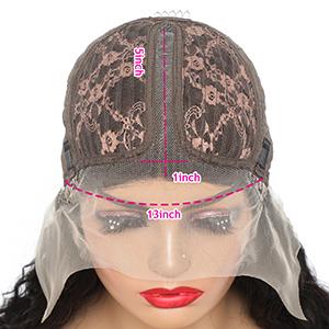 T part lace front wig loose deep