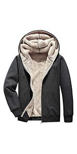 Warm Thicken Fleece Hoodie