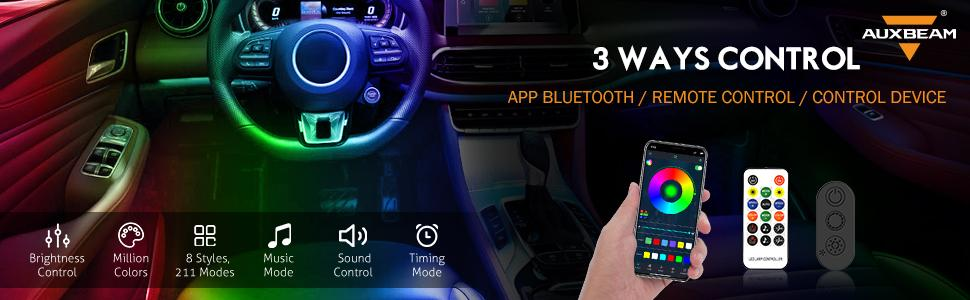 Auxbeam Car LED Strip Lights