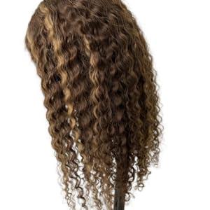 highlight human hair wig
