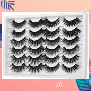 6 styles false lashes