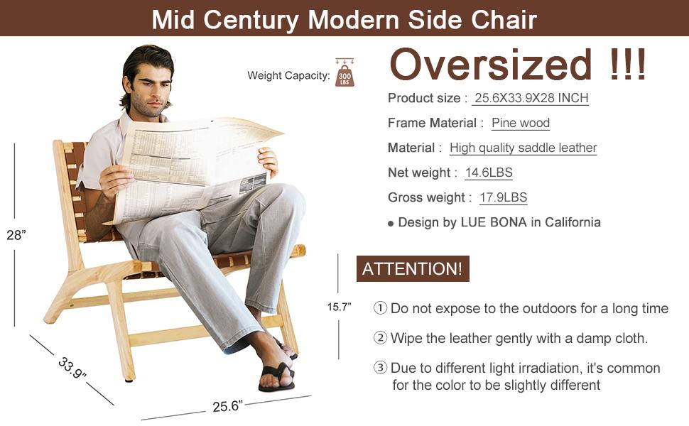 Mid Century Modern Side Chair