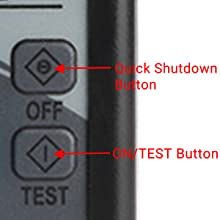 OFF & Test Button