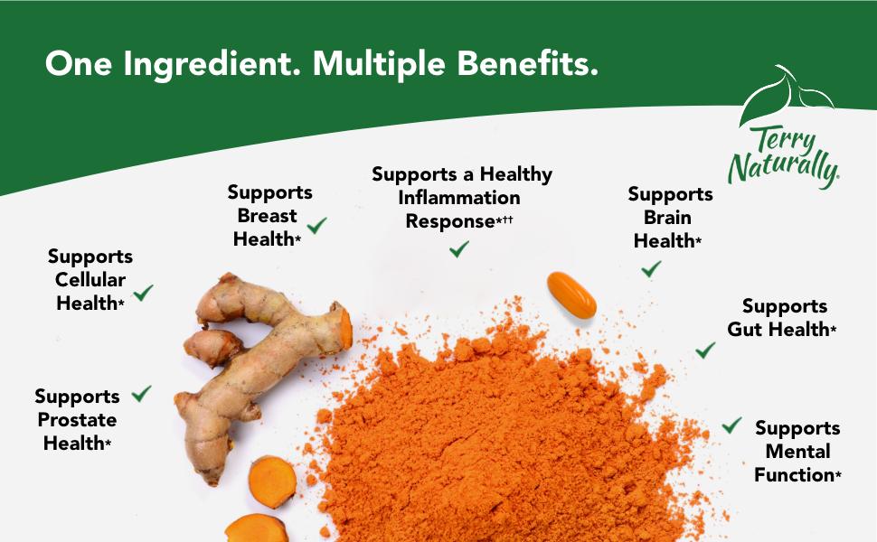 One Ingredient. Multiple Benefits.