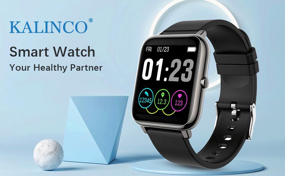 Smartwatch fitness tracker fitbit apple watch huawei xiaomi smart watch for men activity track
