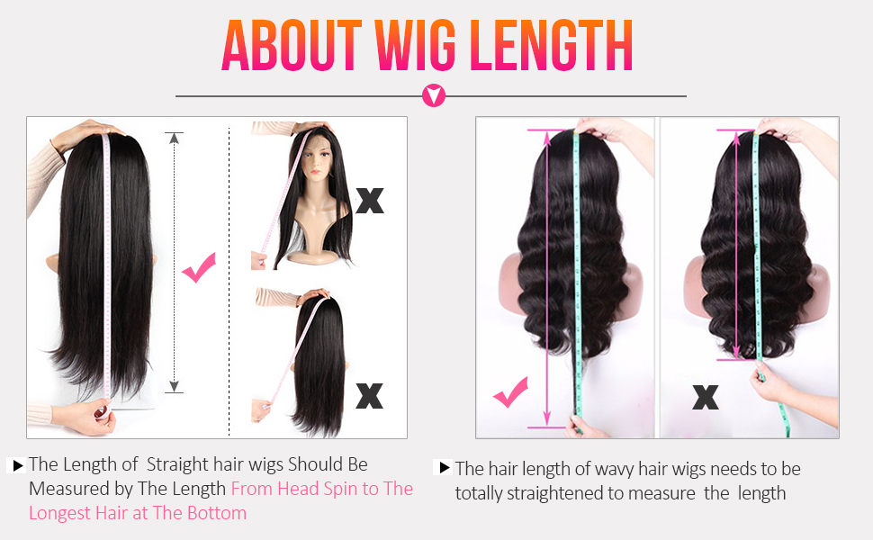 about wig length