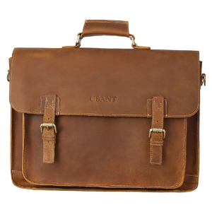 full grain leather business travel bag