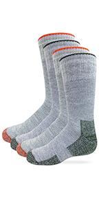 youth merino wool boot socks