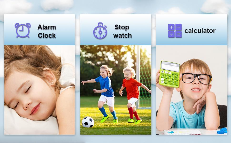 Kids smart watch functions