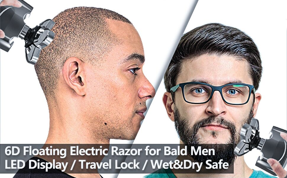 men bald head shaver