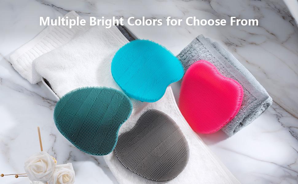 Silicone body scrubber ,shower brush