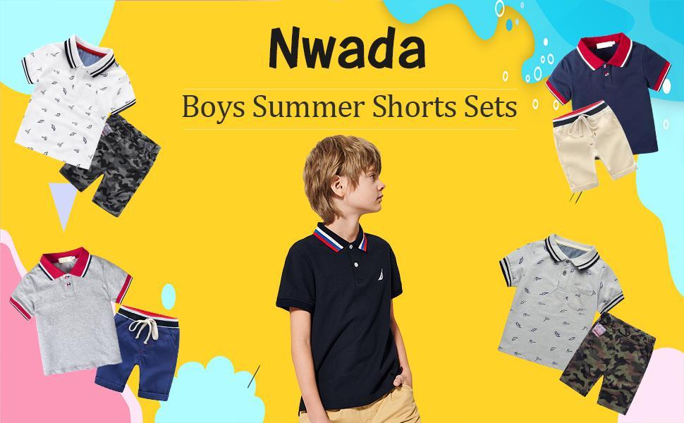 Boys Summer Clothes Sets