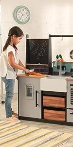 KidKraft Wooden Farm to Table Play Kitchen