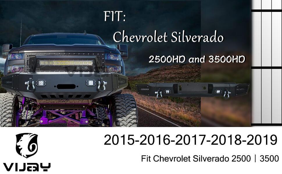 chevy 3500 bumper