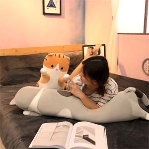 Long cat pillow