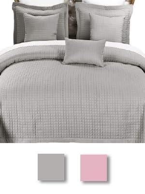 Royal Hotel Bedding Ayat Birds Oversized Coverlet Set, Luxury Printed Design Quilt, Bedspread Set