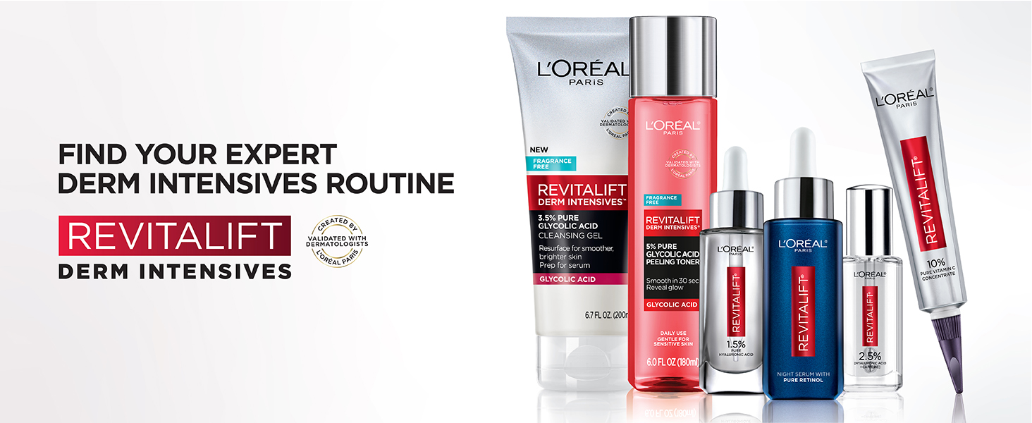 image of revitalift skincare products