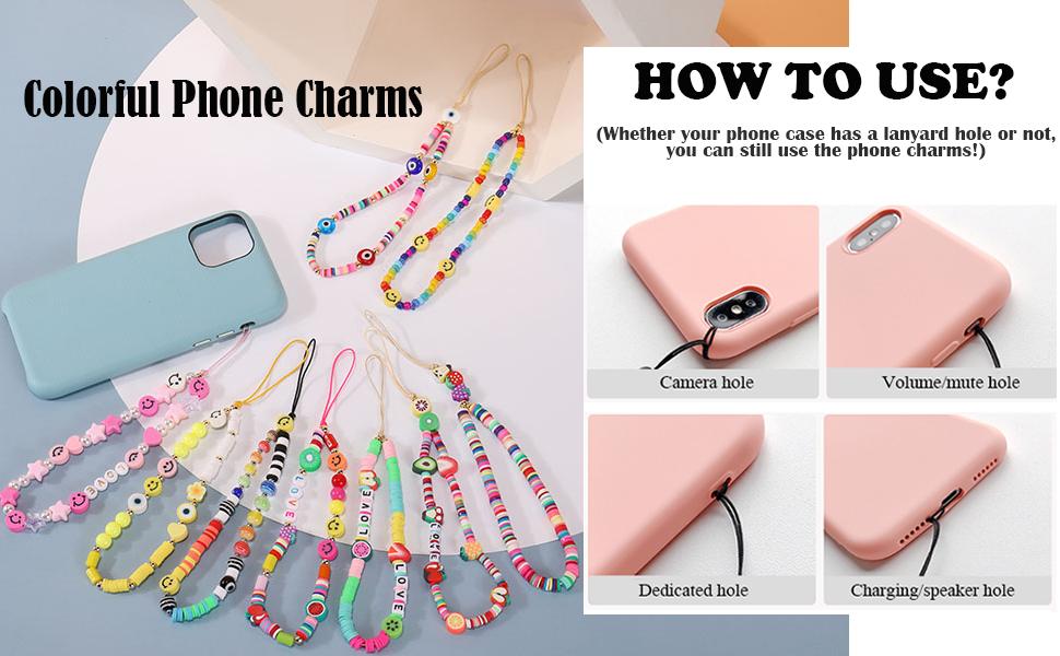 iPhone Charm,Tiktok/ins style phone charm