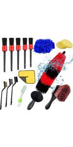 car wheel brush kit