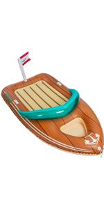 iant Inflatable Boat Pool Float