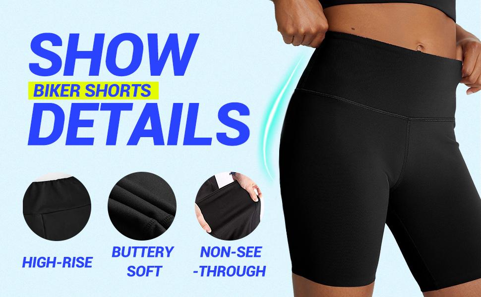 biker shorts for women