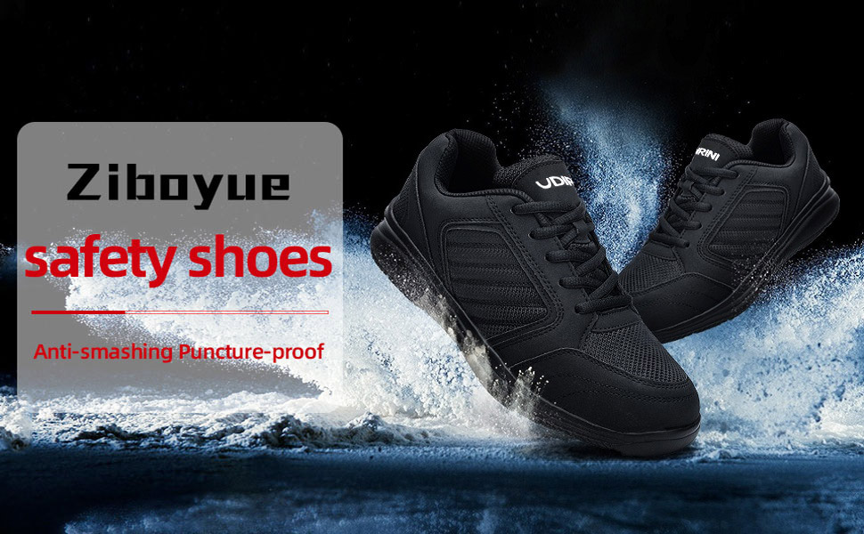 Industrial construction safety shoes