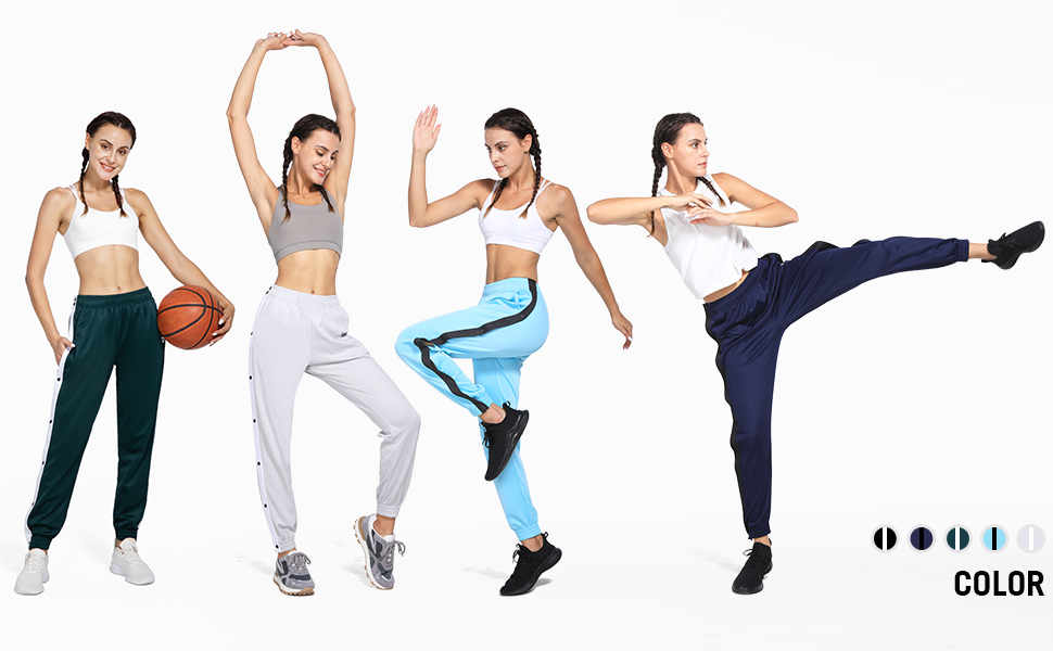 warm up basketball pants women
