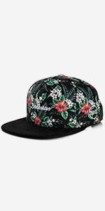 Blackskies-Oahu-Snapback-Cap-Floral-Hat