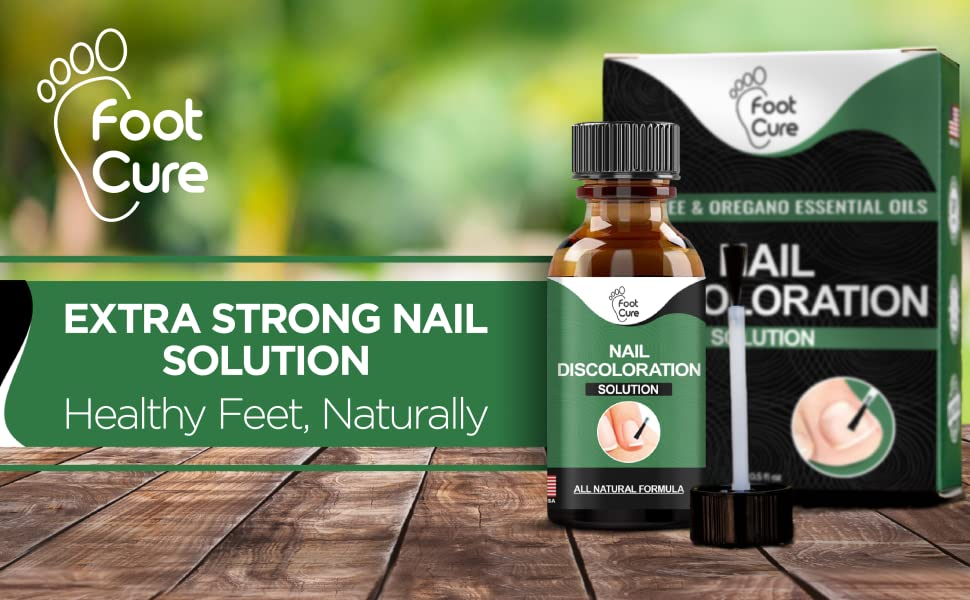 Extra Strong Nail Solution, Healthy Feet, Naturally