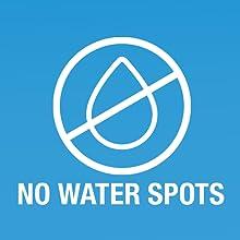 no water spots, ammonia free, static free