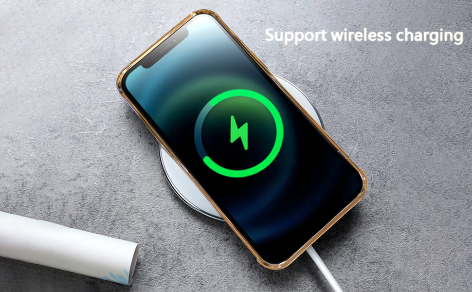 iPhone 11 Pro Max Case Support Wireless Charging